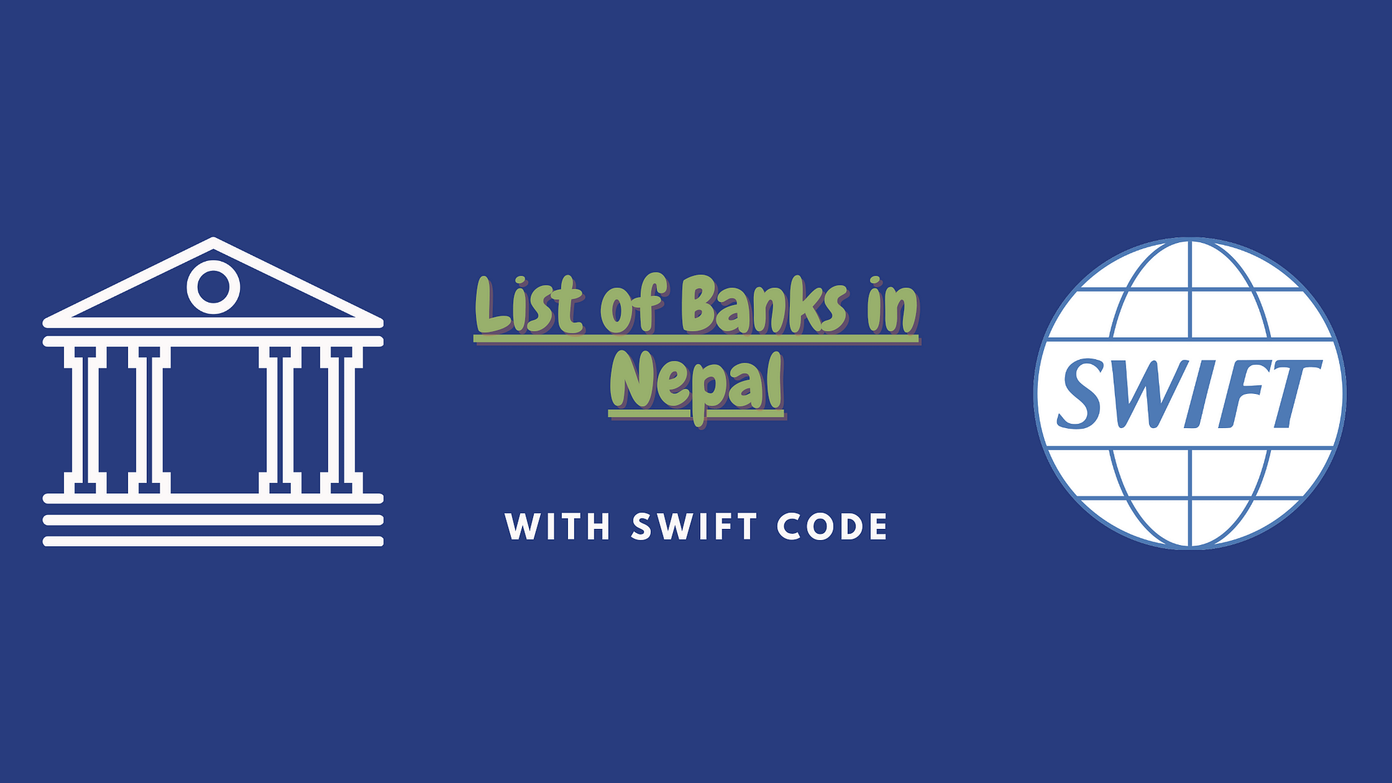 List of Banks in Nepal with their swift codes
